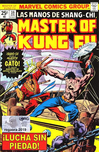 Shang-Chi Master of Kung Fu #38 Cover