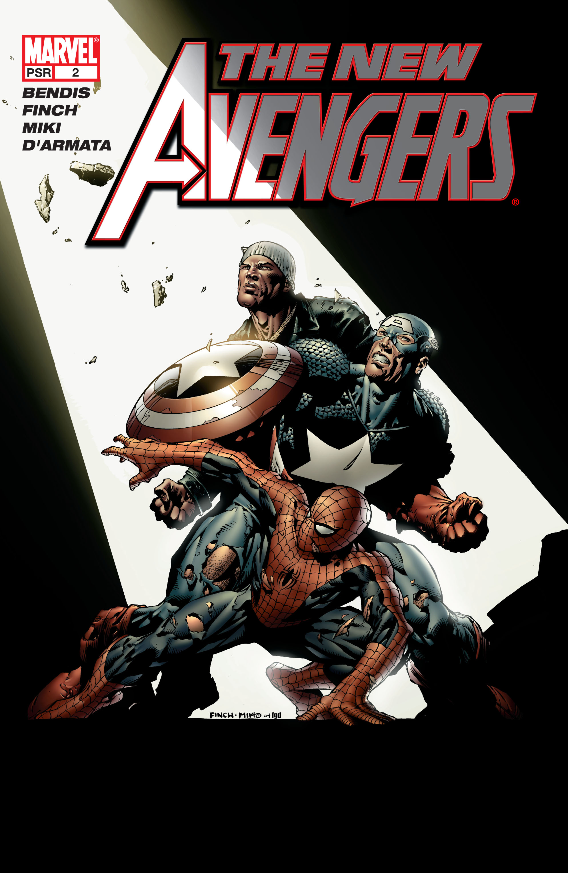 New Avengers (2005) issue 2 - Page 1