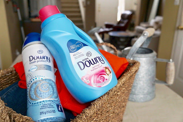 Downy Liquid Fabric Conditioner and Downy Fresh Protect Beads - Gardening & Clothing tips