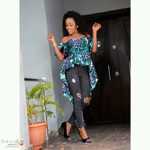 New Ankara Styles Siks Nd Tops: Latest Ankara Styles 2018: Ankara Tops, Gowns, Jumpsuits