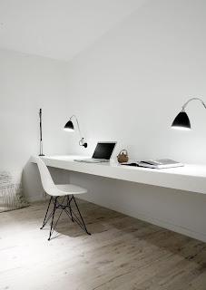 Apartamento en blanco y negro