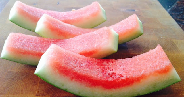 watermelon peel