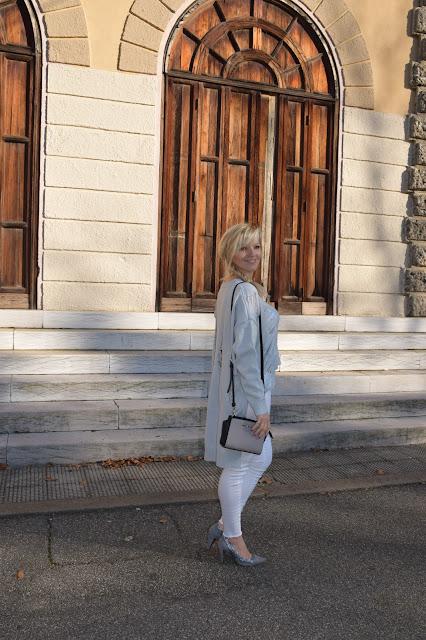borsa mini selma michael kors décolleté grigie fornarina mariafelicia magno fashion blogger italiane blog di moda