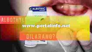 Bahaya dan efek samping Albothyl