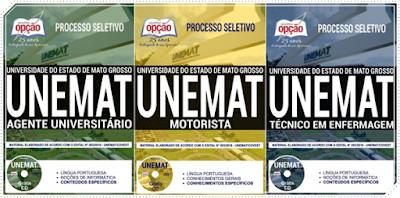 Apostila concurso Unemat - Universidade do Estado de Mato Grosso MT