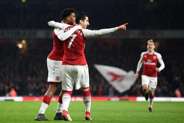 Mkhitaryan Dan Aubameyang Resmi Jadi Pemain Arsenal