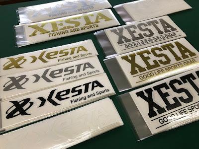 Xesta ステッカー