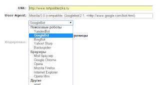 Проверка HTTP заголовков сайта
