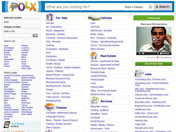 Olx classified jobs