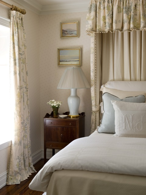 NINE + SIXTEEN: Plans for a master bedroom | beds with canopies
