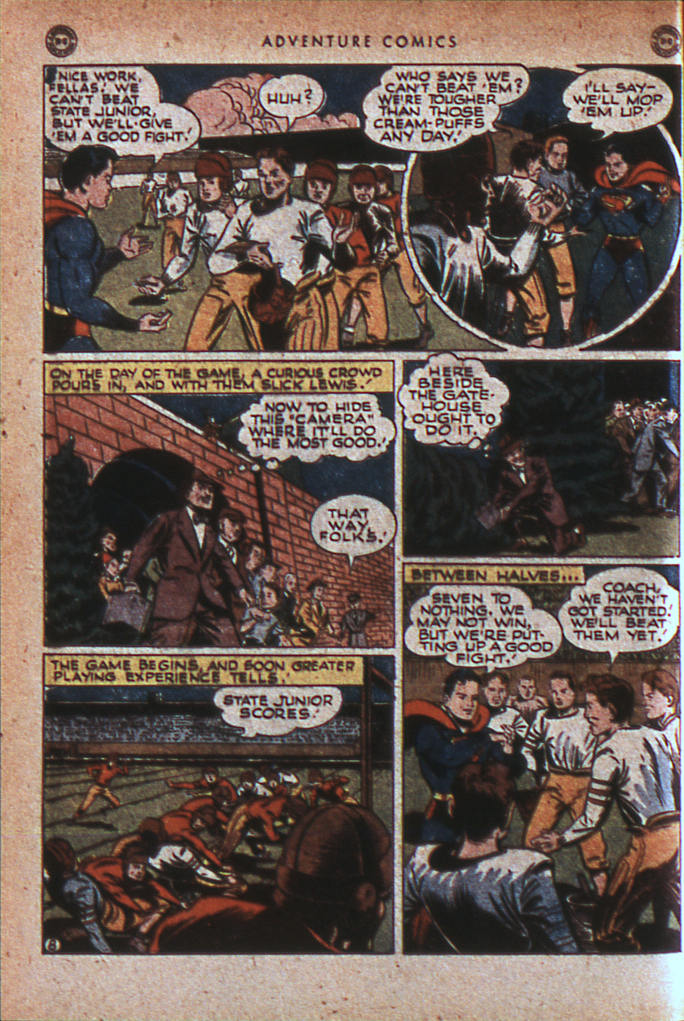 Read online Adventure Comics (1938) comic -  Issue #124 - 11