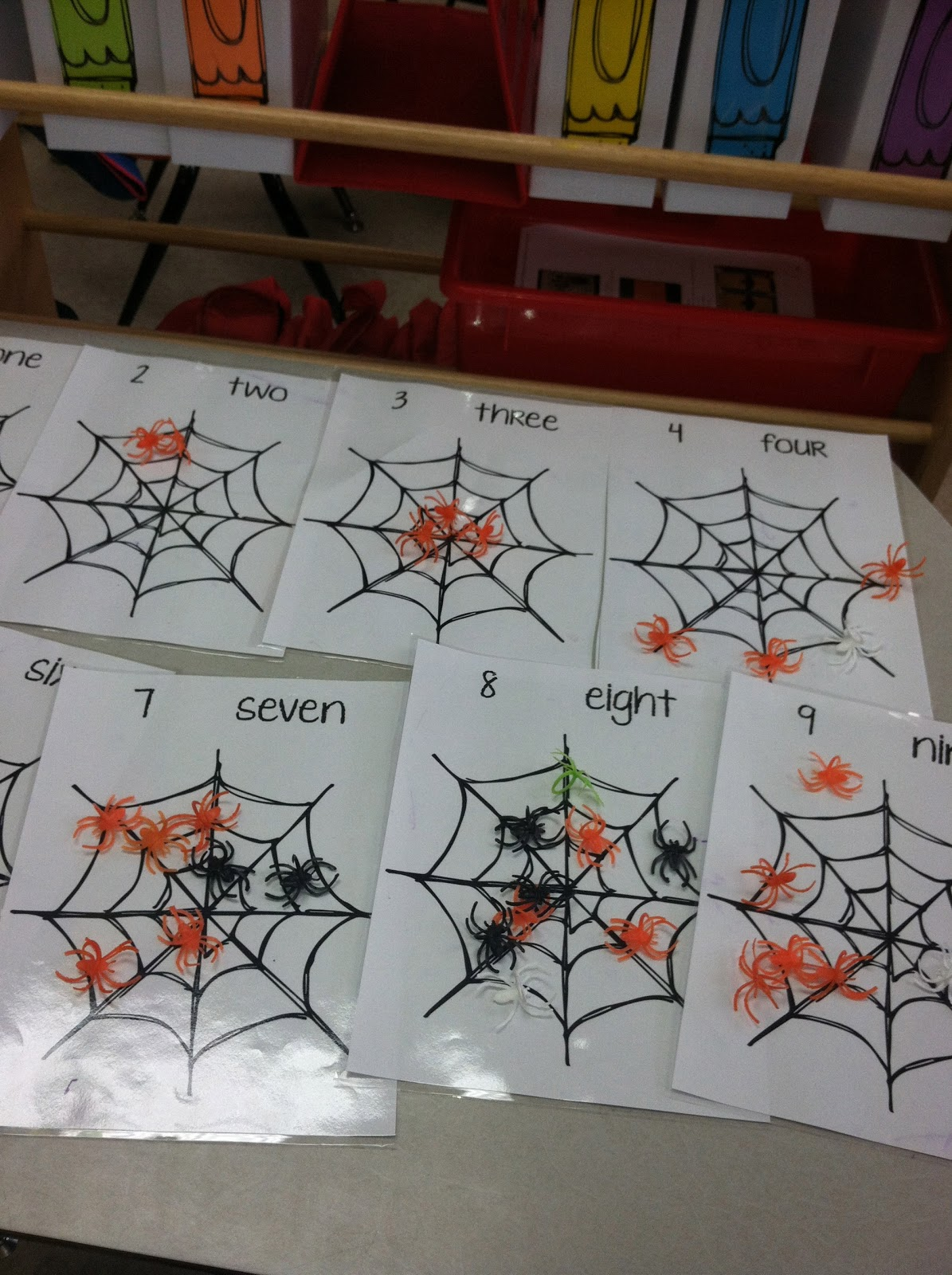 Ms Solano S Kindergarten Class Bats Amp Spiders Amp Labels Oh My
