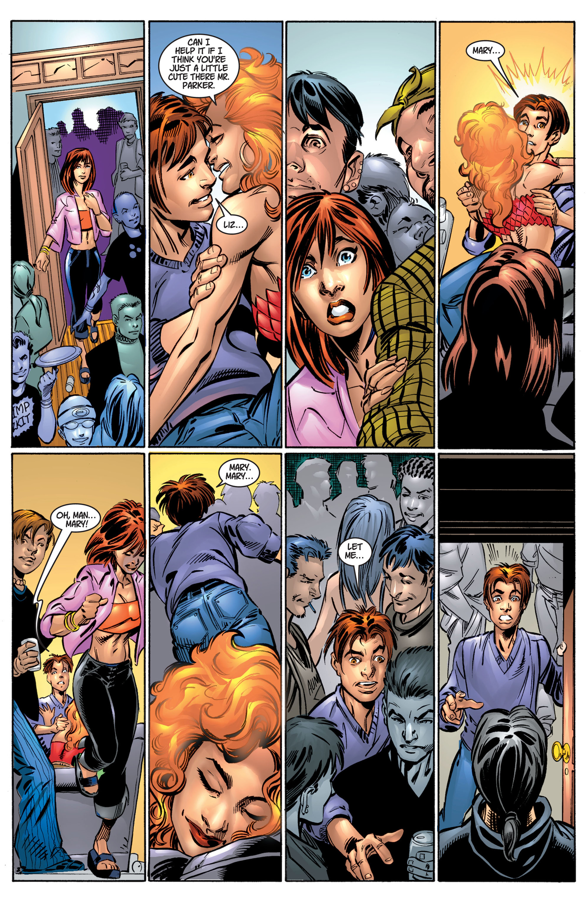 Read online Ultimate Spider-Man (2000) comic -  Issue #4 - 16
