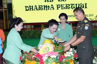 Dharma Pertiwi Daerah 'L' Syukuran HUT ke-55