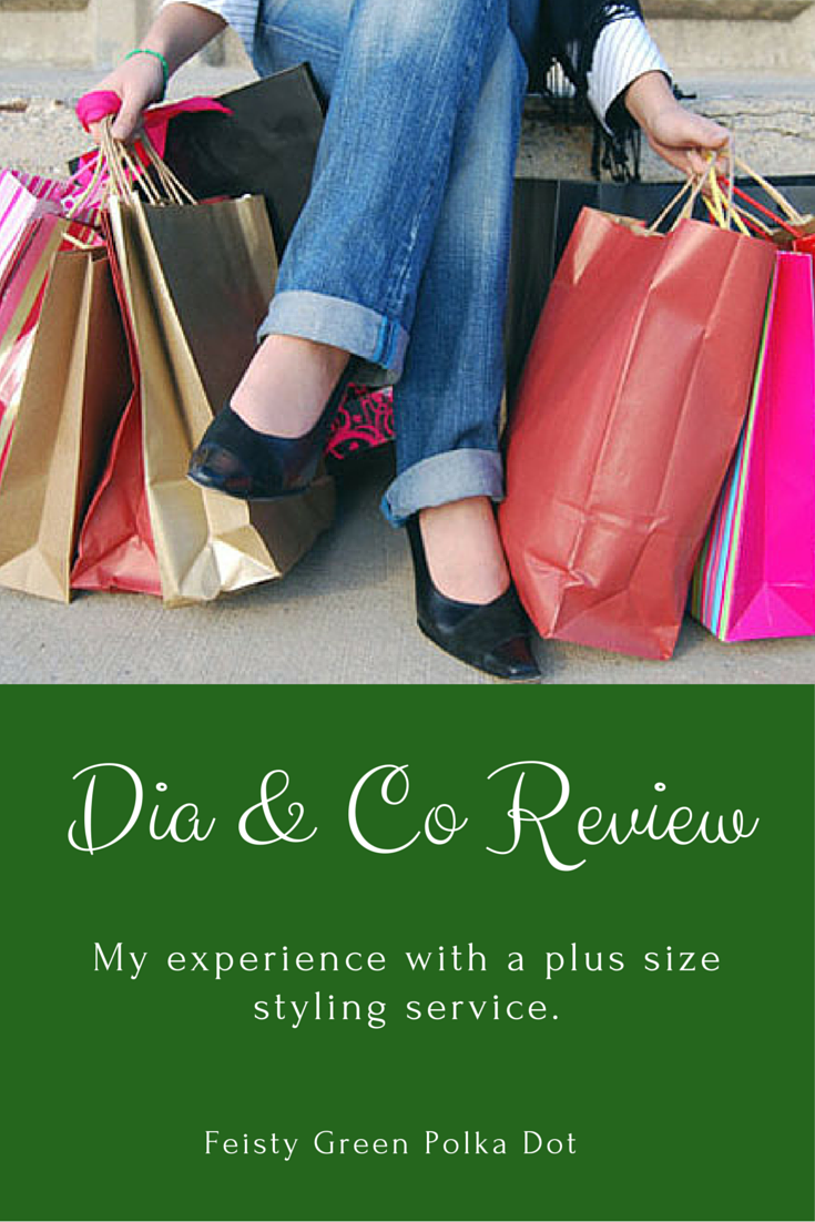 Dia and Co Plus Size Styling Review