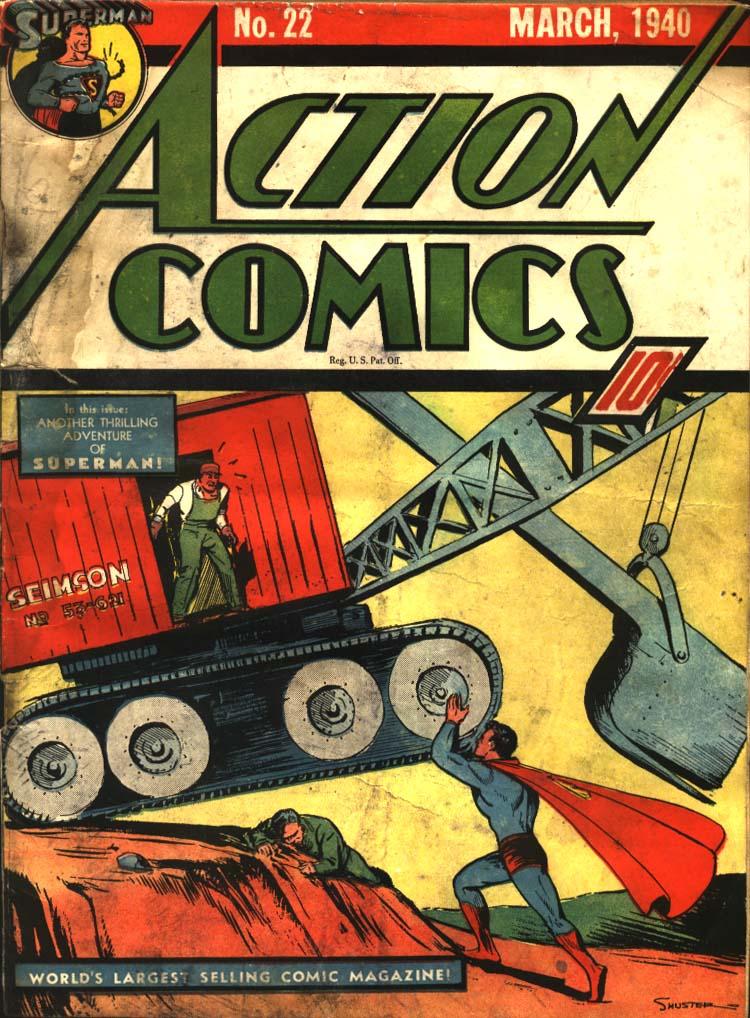 Action Comics (1938) 22 Page 1