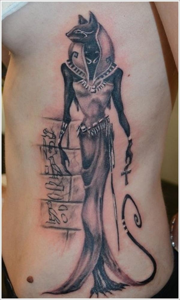 Egipcio Tatuagem Nas Costelas