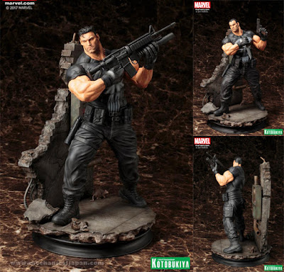 The Punisher per la linea Fine Art Statue della Kotobukiya