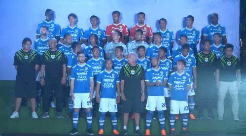 Daftar Pemain Persib Bandung 2018-2019. Skuat Maung Bandung Liga 1 2018
