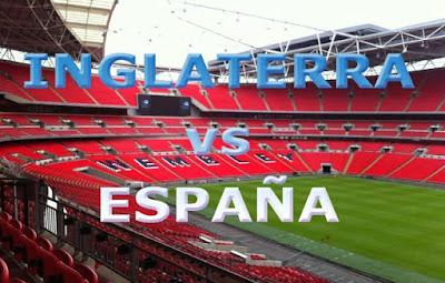 partido inglaterra espana en la 1