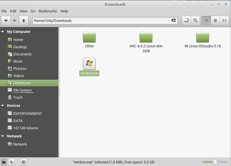 How to Download Winbox on Linux