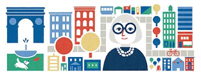 """بعد احتفال جوجل بمئوية ميلادها.. 10 معلومات عن """"جاين جاكوبز Jane Jacobs"""""""