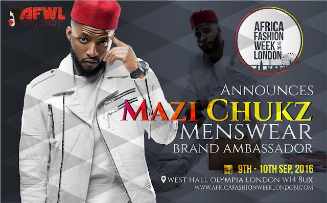 Mazi Chukz is Africa Fashion Week London 2016