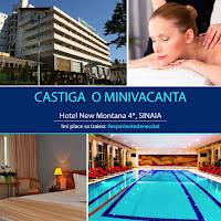 Castiga o minivacanta la Hotelul New Montana 4* din Sinaia