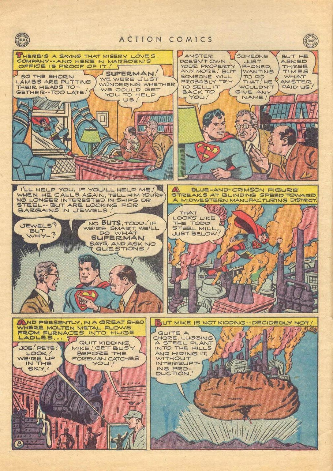 Action Comics (1938) 77 Page 8