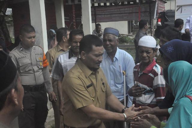 Alhamdulillah, 929 Keluarga Pra Sejahtera di Aceh Jaya Terima Bantuan Sembako