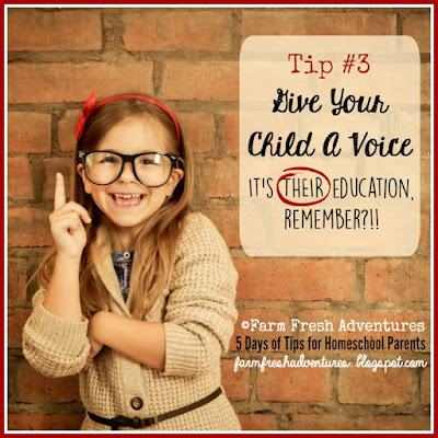 5 Days of Tips for Homeschool Parents: Tip 3