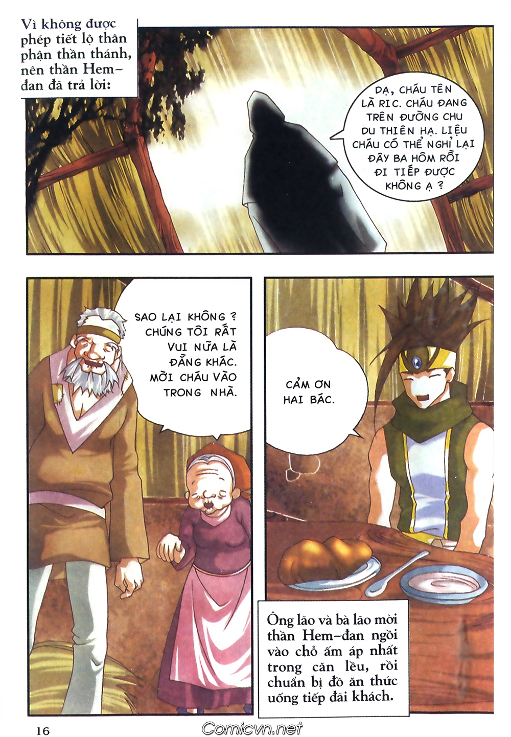 Thần thoại Bắc Âu - Chapter 38: Sứ mệnh đặc biệt - Pic 17