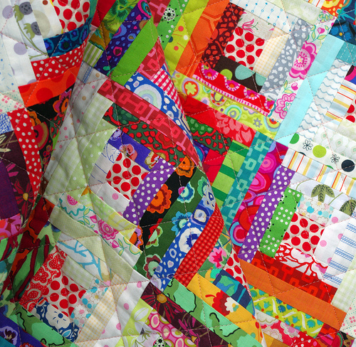 This Quilt Is Made From Just One Block, A Very Traditional Log Cabin Block.  Nothing New Here, But I Thought I Would Share With You The Size And  Construction ...
