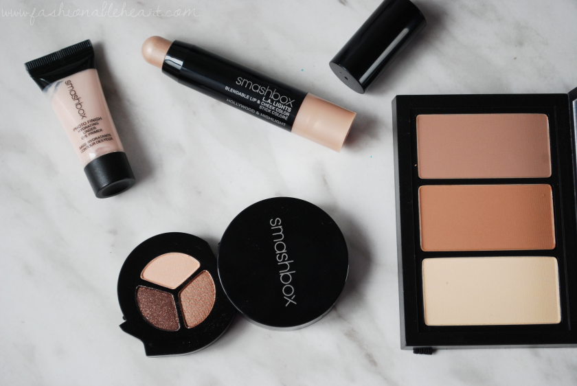 bbloggers, bbloggersca, canadian beauty bloggers, sephora, sephora canada, smashbox, studio lighting secrets, 500 point perk, beauty insider, vib, photo op trio, step by step contour, photo finish hydrating eye primer, la lights hollywood and highlight, swatches, review