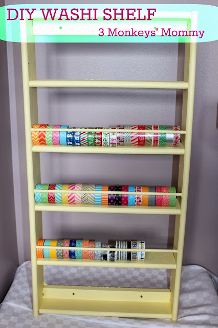 http://3monkeysmommy.blogspot.ca/2014/01/diy-washi-tape-shelf.html