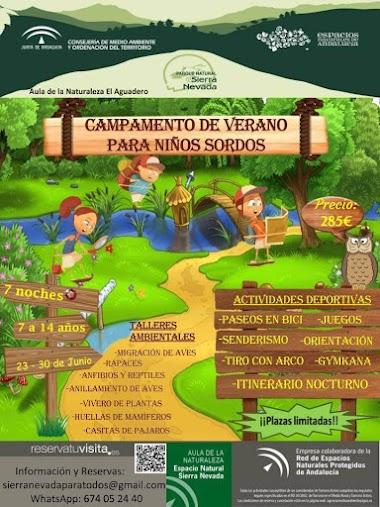 Campamento de Verano para Niños Sordos 2019