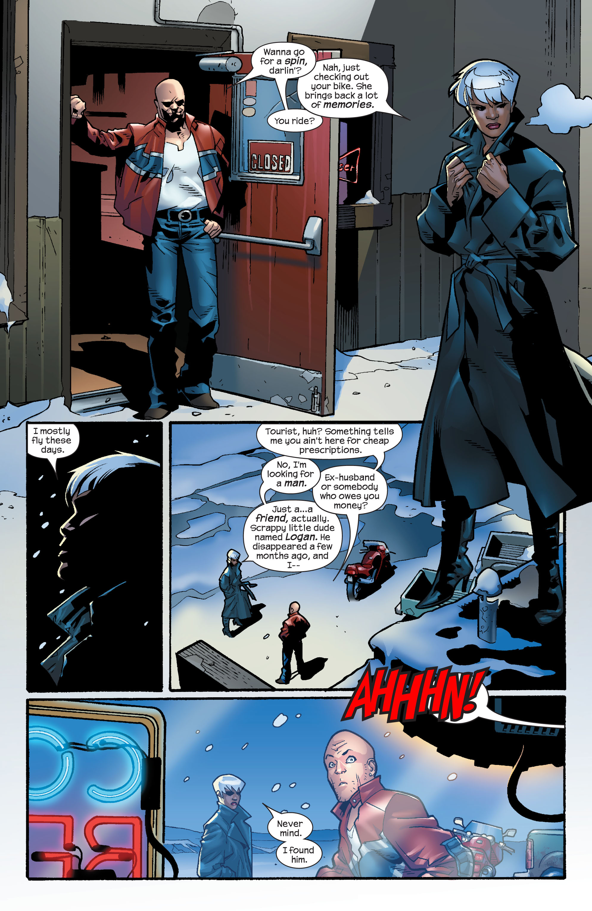 Read online Ultimate X-Men comic -  Issue #59 - 10