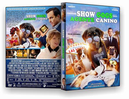 CAPA DVD – Show Dogs O Agente Canino -DVD-R