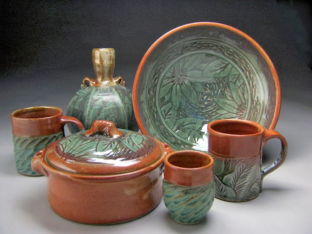 Jeff Brown Pottery Seagrove NC