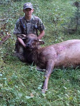 RMEF Youth Blog: Caleb's Thrilling Cow Elk Hunt