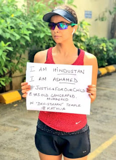 Bollywood Actors Against Kathua Rape Case