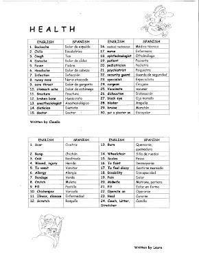 Valme's English Corner: VOCABULARY 3 (list of useful words