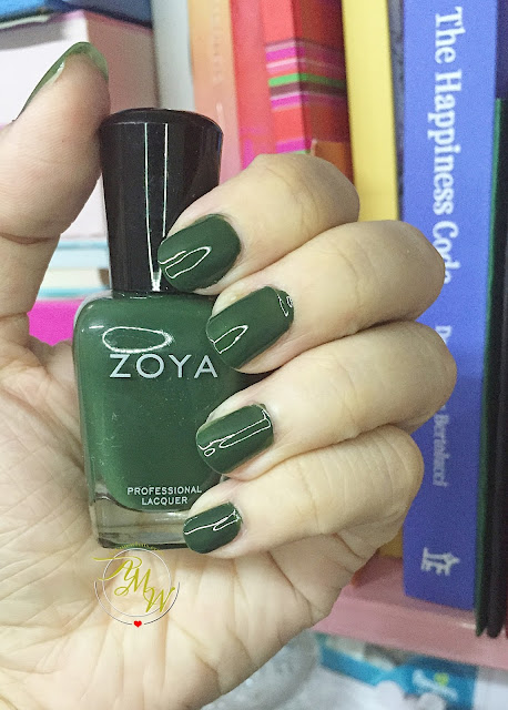 a photo of New Zoya Professional Lacquer shades in MIA, Hunter and Dream