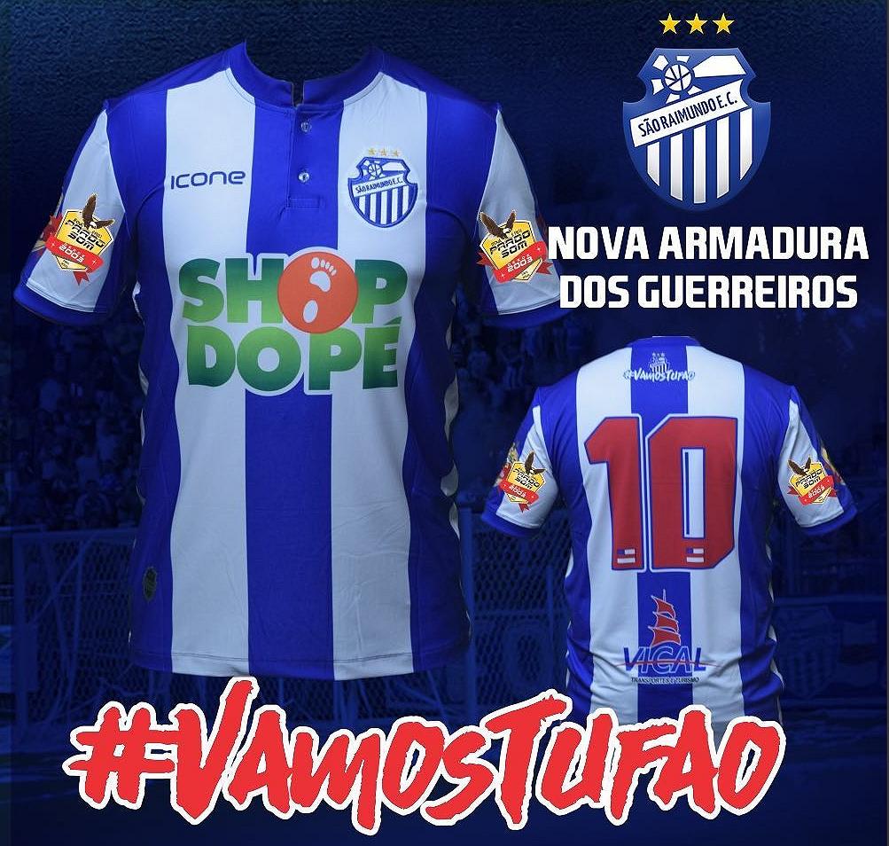 fe624b316b São Raimundo divulga a sua nova camisa titular - Show de Camisas