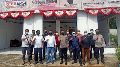 Kombes Pol Edy Sumardi silaturahmi Kunjungi Kantor Redaksi Bangun Media Grup