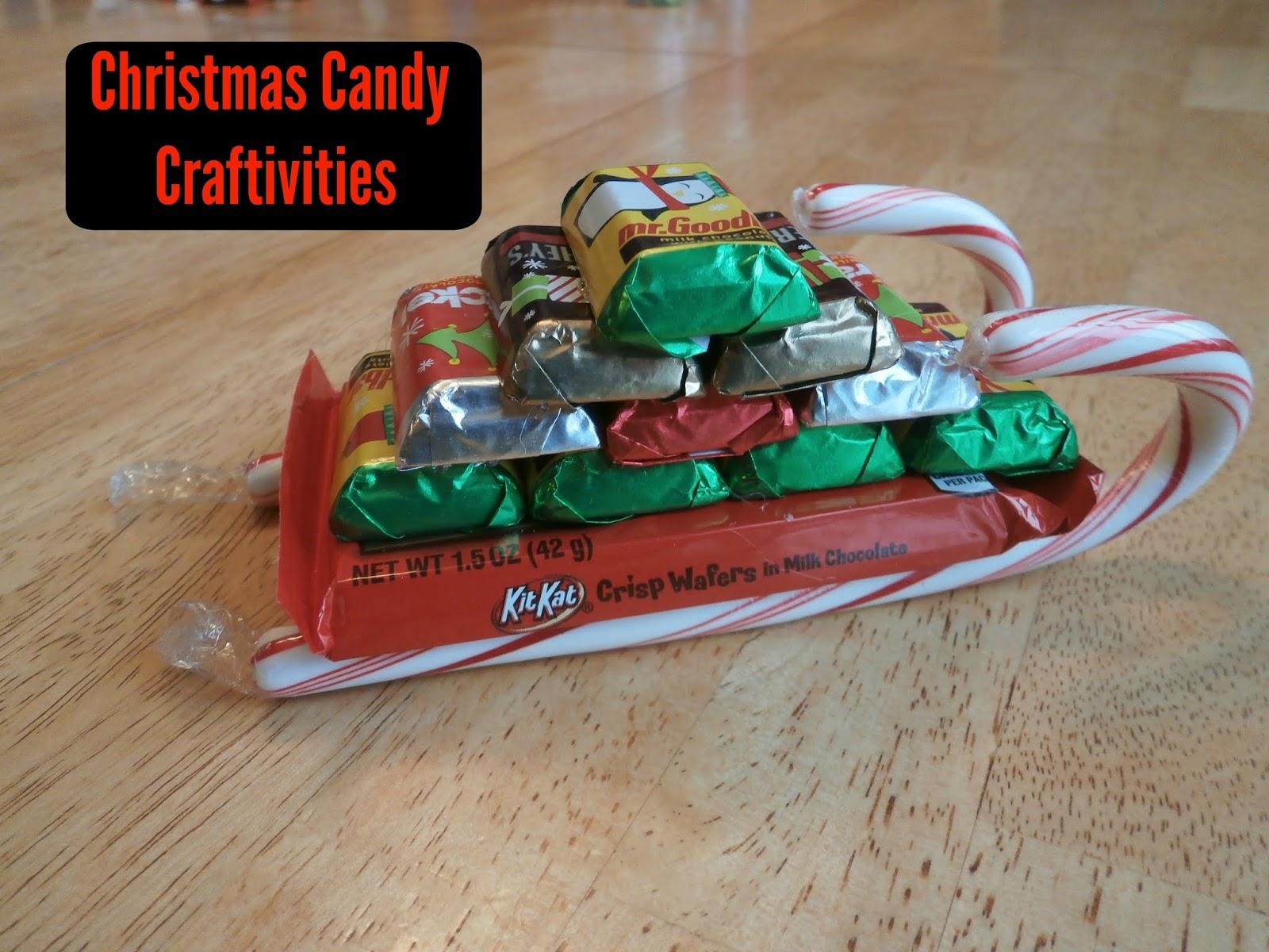 Christmas Candy Train.Candy Craftivity