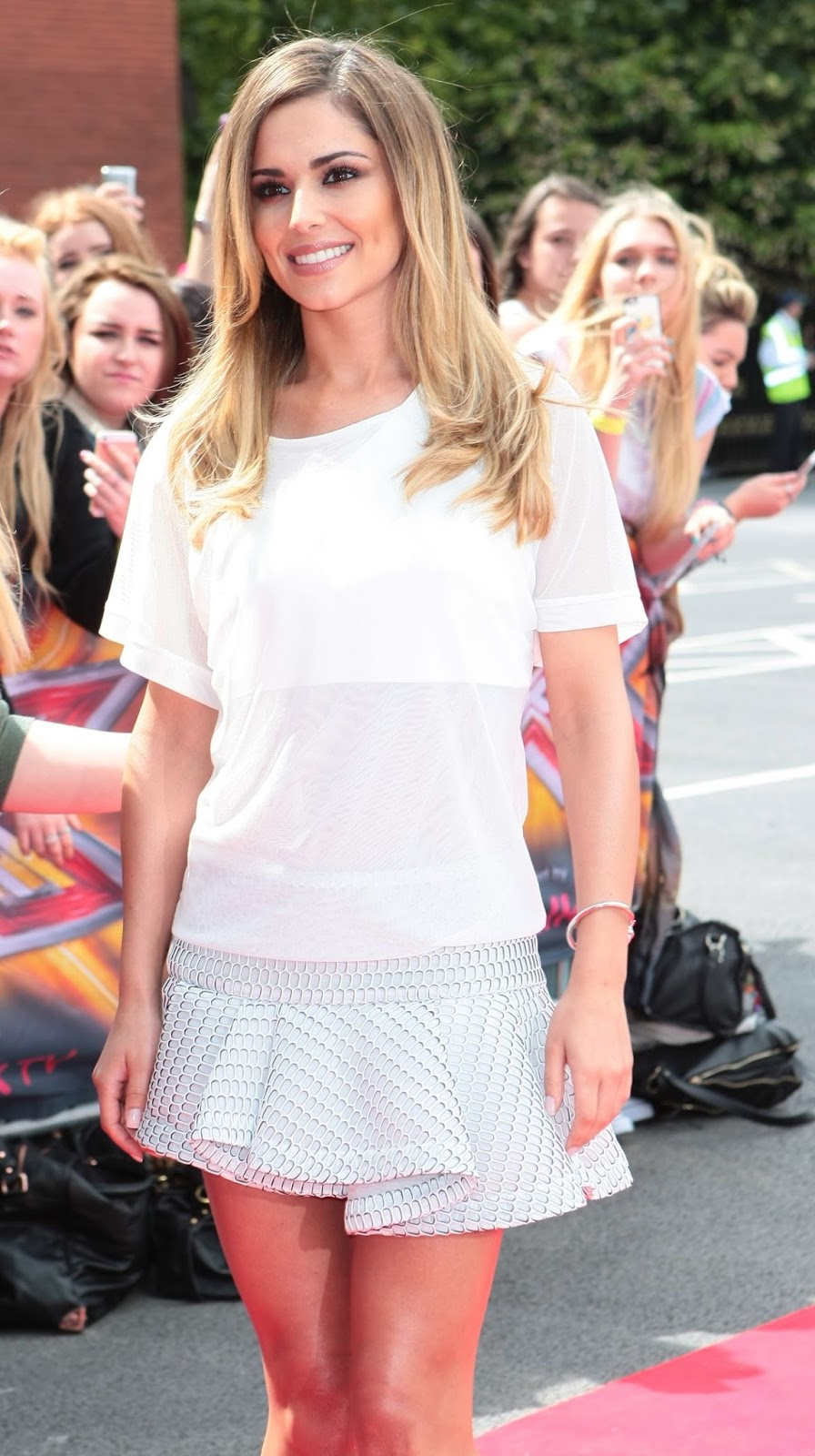 HD Photos of Cheryl Cole at The X Factor Auditions in Manchester