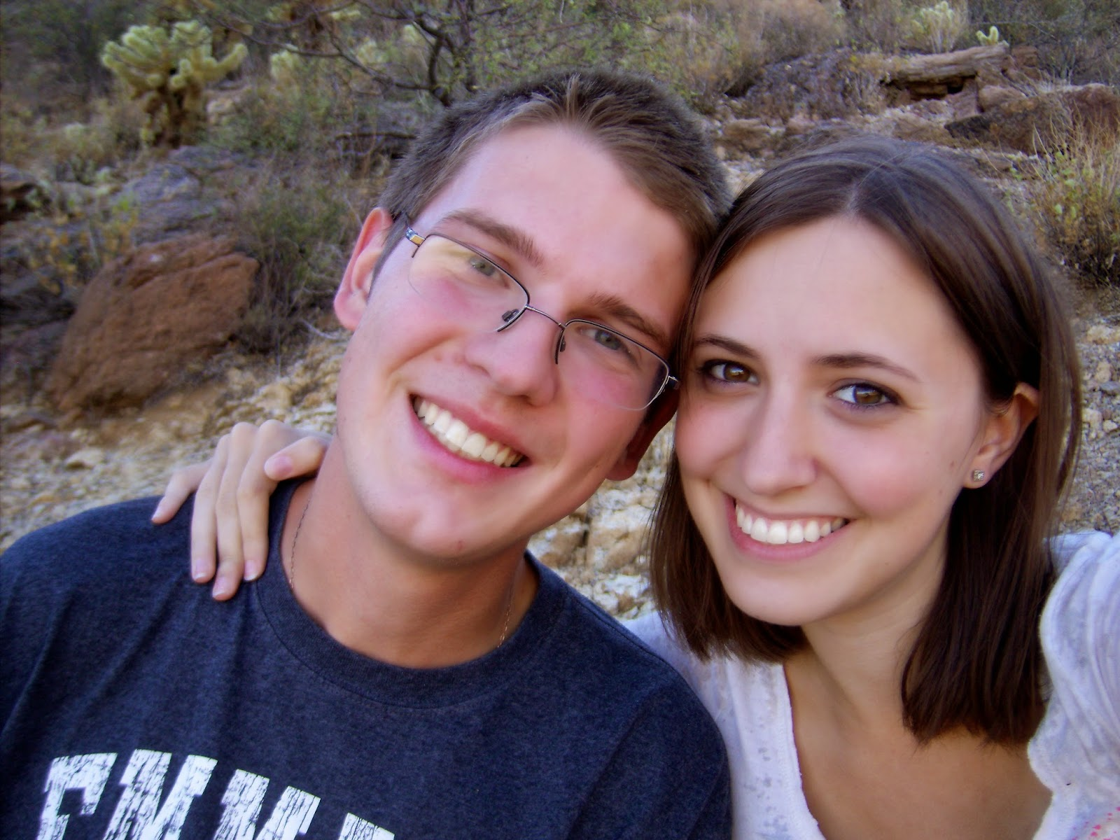 curtis and i in tucson mountain park