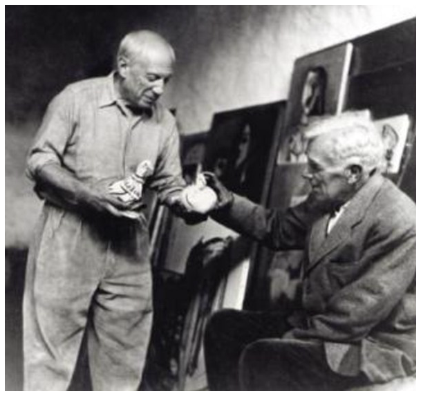 pablo picasso and georges braque relationship advice