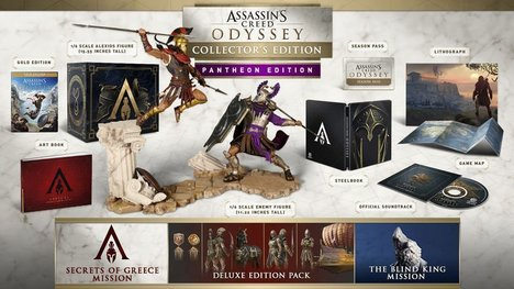 Assassin's Creed Odyssey Pantheon Edition